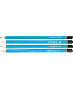 Set van 4 potloden 2H, 2B, HB, HB