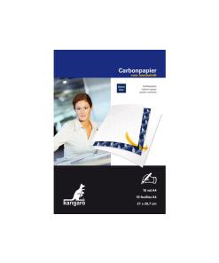 Carbonpapier A4 21x29,7cm 10 vel blauw