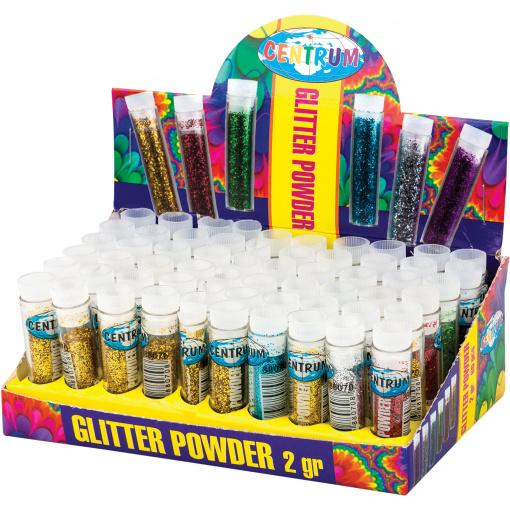 Glitter poeder display