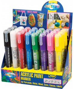 Acrylic Paint Marker Display