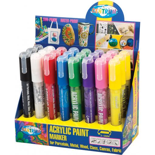 Acrylic Paint Marker Display