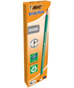 Bic Ecolution Evolution HB Potlood Met Gum