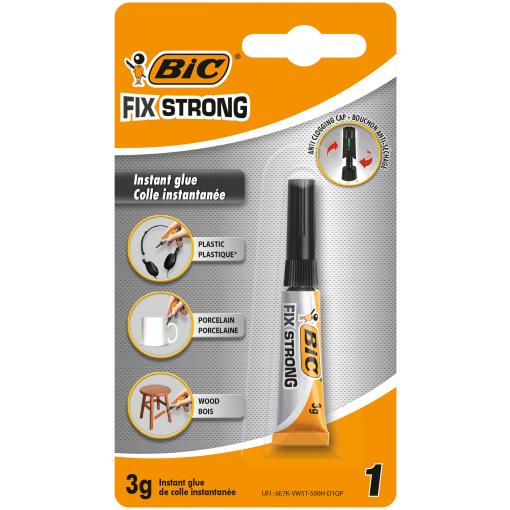 Bic Fix Strong Secondelijm 3g Blister