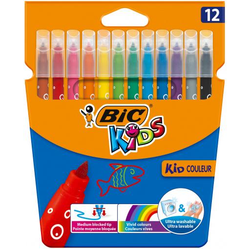 BIC Kids Kid Couleur 12 Viltstiften